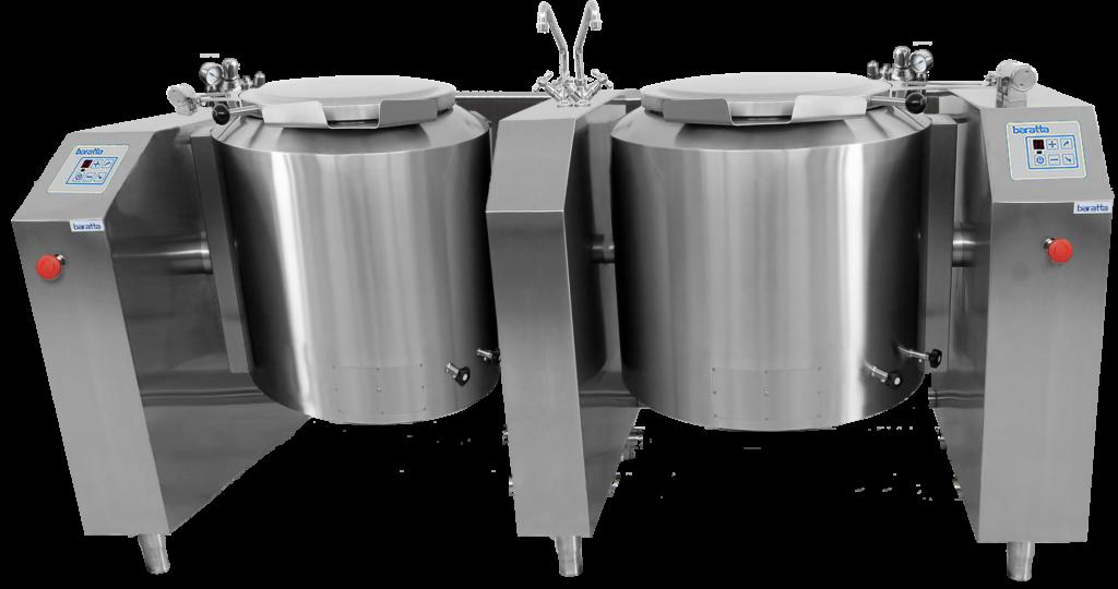 PEIR2 - Pentola elettronica indiretta ribaltamento elettrico