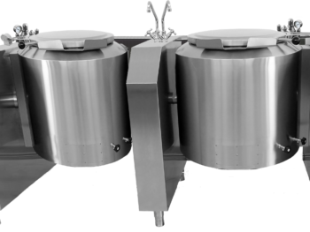 PTEM2 - Pentola elettrica indiretta ribaltamento elettrico