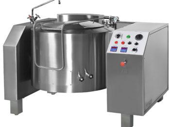 PGRM - Pentola a gas indiretta ribaltamento elettrico con mescolamento