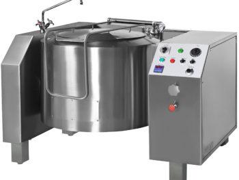 PVIM - Pentola a vapore indiretta ribaltamento elettrico con mescolamento