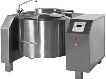 BGTM - Brasiera a gas elettronica ribaltamento elettrico con mescolamento